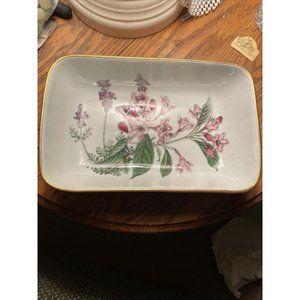 "Spode Stafford Flowers Weigela & Lavender 10"" Dish"
